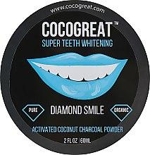 Духи, Парфюмерия, косметика Зубной порошок для отбеливания зубов с кокосовым углем - Cocogreat Super Teeth Whitening