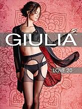 """Парфумерія, косметика Колготки для жінок """"Love"""" 20 Den, nero - Giulia"""