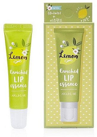 Эссенция для губ с лимонным ароматом - Welcos Around Me Enriched Lip Essence Lemon