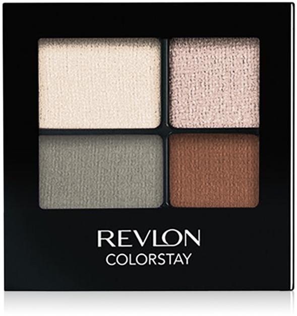 Стойкие тени для глаз - Revlon Colorstay 16 Hour Eyeshadow Quad
