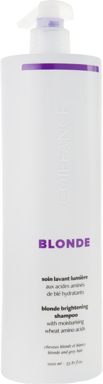 Шампунь для светлых волос - Coiffance Professionnel Blond Brightening Shampoo