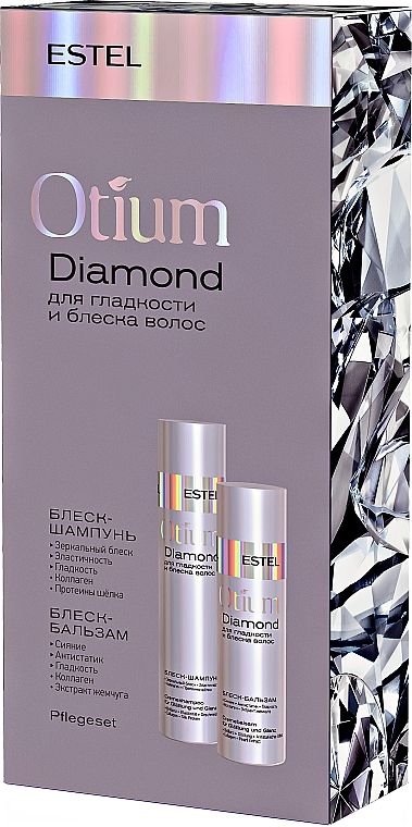 Набор - Estel Professional Otium Diamond (shm/250ml + balm/200ml)