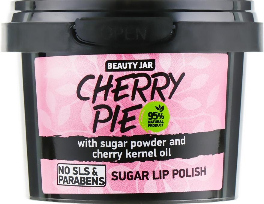 Смягчающий сахарный скраб для губ - Beauty Jar Cherry Pie Sugar Lip Polish