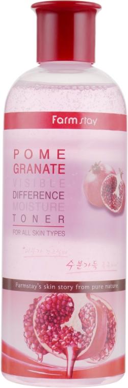 Увлажняющий тонер с экстрактом граната - FarmStay Visible Difference Moisture Toner