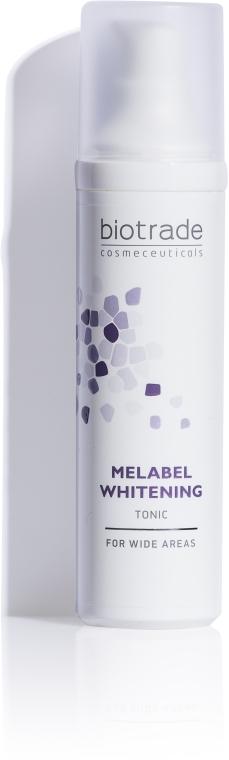 Отбеливающий тоник для осветления пигментных пятен и ровного тона кожи - Biotrade Melabel Whitening Tonic
