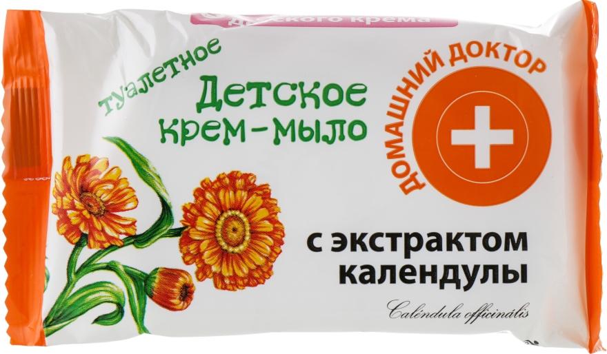 Детское крем-мыло с календулой - Домашний Доктор