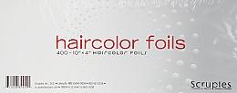 Духи, Парфюмерия, косметика Фольга для обесцвечивания, 400, 10/4 - Scruples Aluminum Foil PreCut Sheets