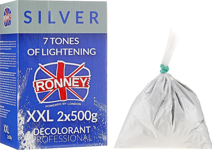 Пудра для осветления волос до 7 тонов - Ronney Professional Dust Free Bleaching Powder Classic