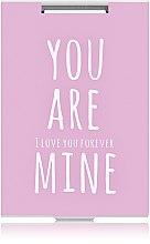 """Духи, Парфюмерия, косметика Зеркало прямоугольное """"You are mine"""", розовое - Rapira"""