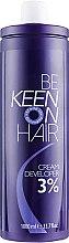 Духи, Парфюмерия, косметика Крем-окислитель 3% - Keen