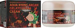 Парфумерія, косметика Крем зволожувальний - Elizavecca Face Care Aqua Rising Argan Gelato Steam Cream