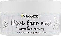 "Парфумерія, косметика Альгінатна маска для обличчя ""Чорниця"" - Nacomi Professional Face Mask"