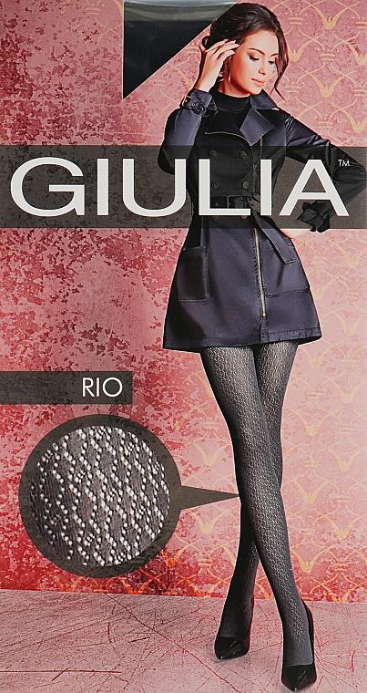 """Колготки """"Rio Model 9"""" 150 Den, nero - Giulia"""