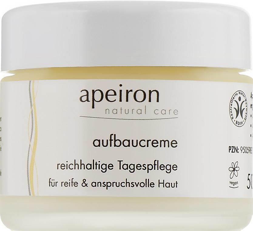 Восстанавливающий дневной крем - Apeiron Regenerating Day Cream
