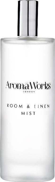 "Спрей для дома ""Лемонграсс и бергамот"" - AromaWorks Light Range Room Mist"