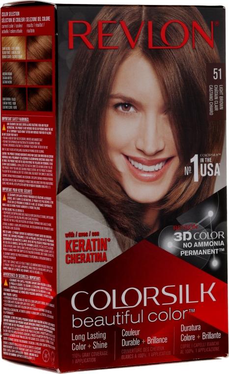 Стойкая краска для волос - Revlon ColorSilk Beautiful Color