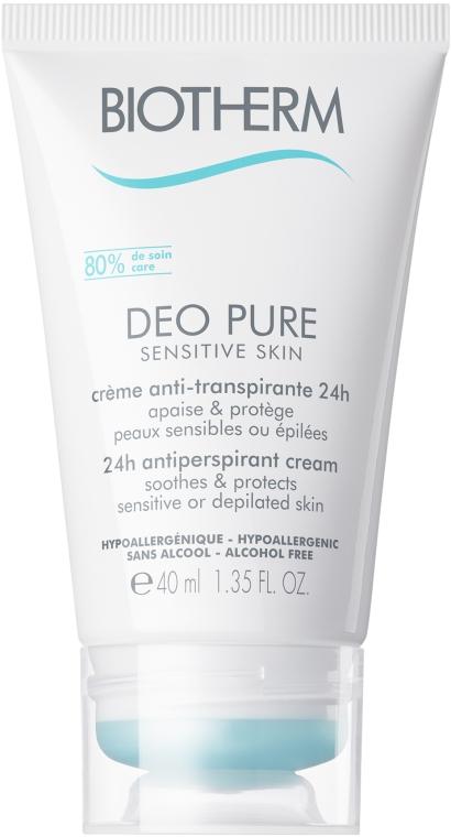 Кремовый антиперспирант для чувствительной кожи - Biotherm Deo Pure Sensitive Cream
