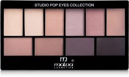 Парфумерія, косметика Набір тіней для повік - Malva Cosmetics Eye Shadow Set Secret World