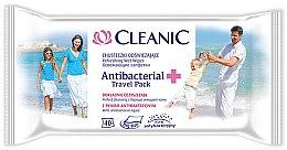 Духи, Парфюмерия, косметика Освежающие антибактериальные салфетки, 40шт - Cleanic Antibacterial Wipes
