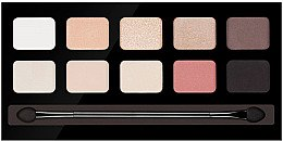 Духи, Парфюмерия, косметика Палетка теней для век - Pierre Rene Palette Match System Eyeshadow Nude