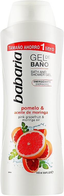 Гель для душа - Babaria Pink Grapefruit & Moringa Oil Shower Gel