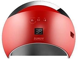 Духи, Парфюмерия, косметика Лампа UV/LED, красная - Sun 6 UV/LED 48W