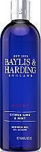 Духи, Парфюмерия, косметика Гель для душа - Baylis & Harding Men's Citrus Lime & Mint Shower Gel