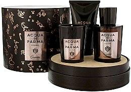 Духи, Парфюмерия, косметика Acqua di Parma Colonia Quercia - Набор (edc/100ml + candle/65g + sh/gel/75ml)