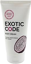 Духи, Парфюмерия, косметика Увлажняющий крем для тела для сухой и нормальной кожи - Good Mood Exotic Code Body Cream