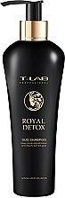 Духи, Парфюмерия, косметика Шампунь для глубокой детоксикации кожи головы - T-LAB Professional Royal Detox Duo Shampoo