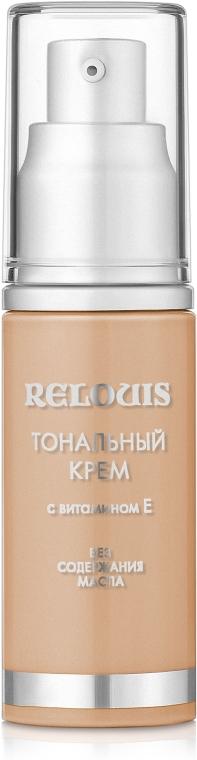 Тональный крем с витамином E - Relouis