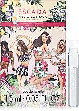 Духи, Парфюмерия, косметика Escada Fiesta Carioca - Туалетная вода (пробник)