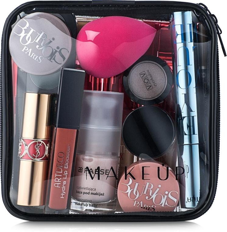 """Косметичка прозрачная """"Visible Bag"""" 15x15x5см (без наполнения) - Makeup"""