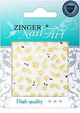 Духи, Парфюмерия, косметика Наклейки для дизайна ногтей, fda-191 - Zinger Nail Art Sticker