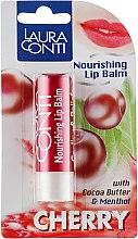 "Духи, Парфюмерия, косметика Бальзам для губ ""Вишня"" - Laura Conti Nourishing Lip Balm"