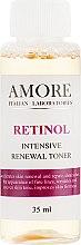 Духи, Парфюмерия, косметика Концентрированный тонер с ретинолом для обновления кожи - Amore Retinol Intensive Renewal Toner