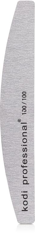 Пилка для нігтів - Kodi Professional (Half Grey, 100/100) — фото N1