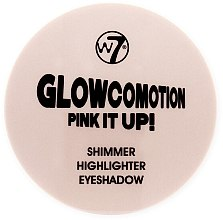Духи, Парфюмерия, косметика Хайлайтер-шиммер - W7 Glowcomotion Pink It Up! Shimmer Highlighter Eyeshadow