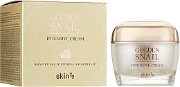 Духи, Парфюмерия, косметика Крем для лица с улиточным муцином и золотом - Skin79 Golden Snail Intensive Cream