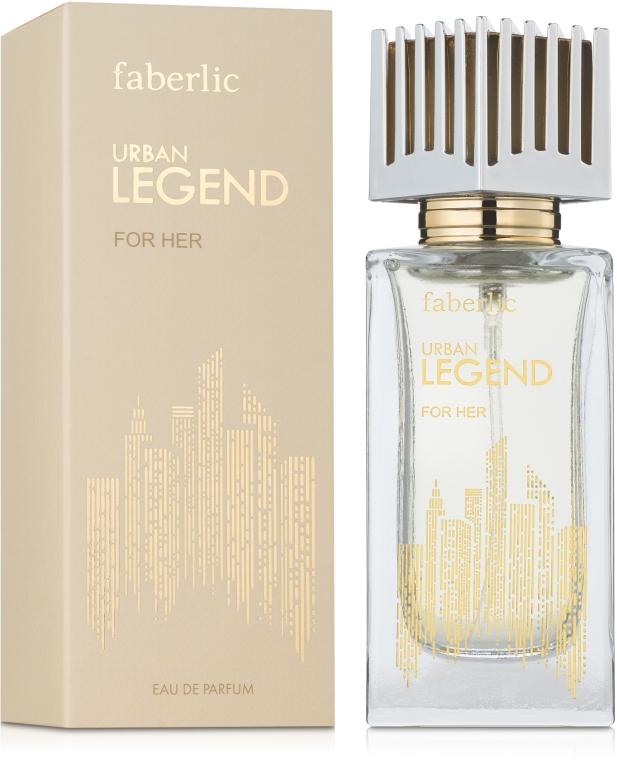 Faberlic Urban Legend For Her - Парфюмированная вода