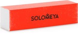 Духи, Парфюмерия, косметика Блок-шлифовщик для ногтей, оранжевый - Solomeya Sanding Block
