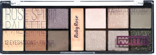 Палетка теней для век с праймером - Ruby Rose Pocket Palette