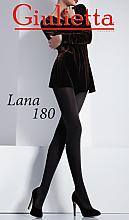 "Духи, Парфюмерия, косметика Колготки для женщин ""Lana"" 180 Den, nero - Giulietta"