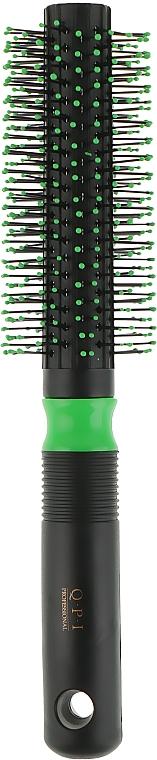 Расческа-браш, РП-8517, зеленая, 21 см. - QPI