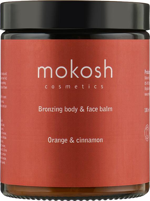 "Бальзам для тела и лица ""Апельсин и корица"" - Mokosh Cosmetics Body&Face Balm Orange & Cinnamon"