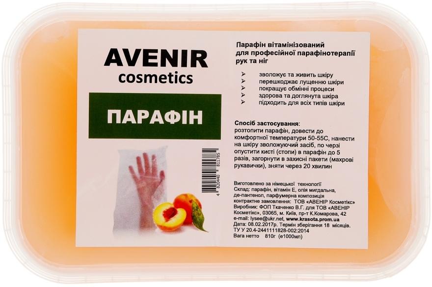 "Парафин ""Персик"" - Avenir Cosmetics"