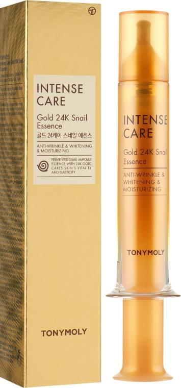 Эссенция для лица - Tony Moly Intense Care Gold 24K Snail Essence