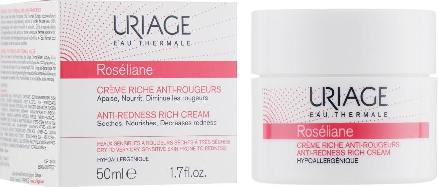 Обогащенный крем против покраснений - Uriage Roseliane Anti-Redness Rich Cream
