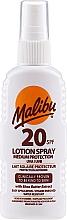 Духи, Парфюмерия, косметика Лосьон-спрей для тела - Malibu Lotion Spray SPF20