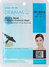 Духи, Парфюмерия, косметика Маска с коллагеном и экстрактом птичьих гнезд - Dermal Bird's Nest Collagen Essence Mask